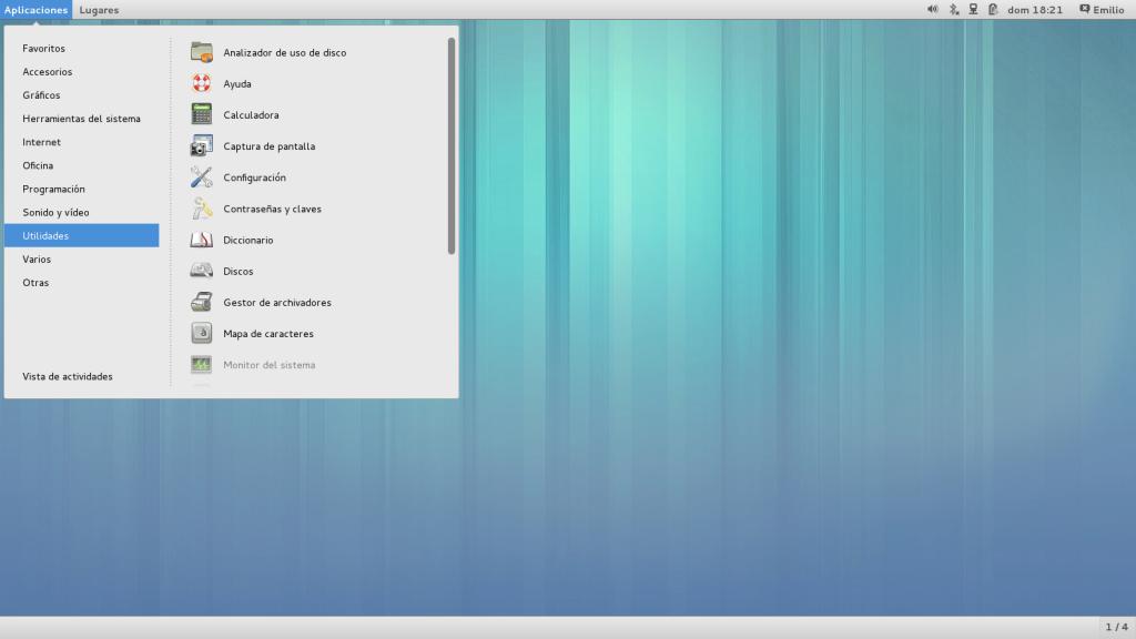 Fedora 19 classic mode
